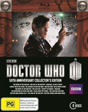Doctor Who (Blu-ray, 2014, 4-Disc Set)