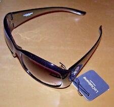 LIZ CLAIBORNE NEW YORK Sunglasses #81860 - BLACK W/ GRAY LENSES - 100% UV
