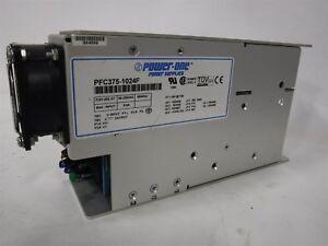 USED POWER ONE PFC375-1024F AC/DC POWER SUPPLY  O9
