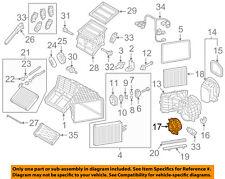 VW VOLKSWAGEN OEM 11-17 Touareg-Blower Motor 7P0820021H