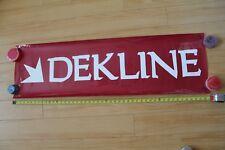 Dekline Skateboarding Skate Shoes Footwear Shop Dealer 14x47in. Banner