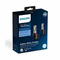 H8/H11/H16 Philips Ultinon LED Fog Lights - Pack of 2 H8 H11 H16 200% Brighter