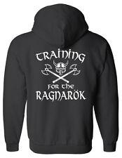 Training for the Ragnarok ZIP hoodie - SM to 5XL - Viking Odin Valhalla Norse