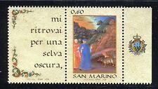 SAN MARINO 2009 LINGUA IT-ITALIAN LANGUAGE DAY/DANTE/VIRGILIO/POET/WRITERS/WILD