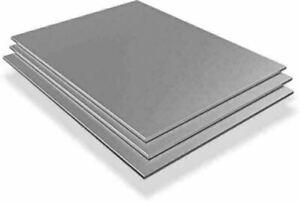 Edelstahlblech 0.5mm V2A 1.4301 Platten Zuschnitt 100 mm bis 2000 mm