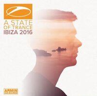 ARMIN VAN BUUREN - A STATE OF TRANCE-IBIZA 2016 - HARDWELL, SUPER8 - 2 CD NEU