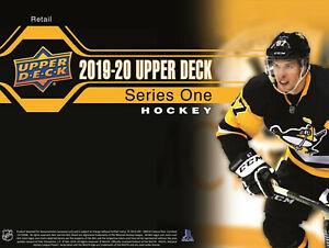 New 2019/20 UD Upper Deck Series 1 Hockey 24 Pack Retail Box