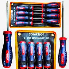 8PCS Conjunto de Herramientas Magnético Destornillador de precisión aislado manijas ergonómicas herramientas