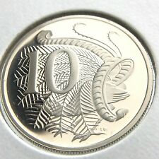 LYREBIRD 1985 AUSTRALIAN TEN 10 CENT COIN **GEM UNCIRCULATED**