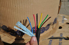 Custom Trailer Light Cable Wiring Harness Custom 6 Wire Jacketed Black Flexible