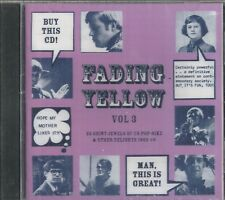 FADING YELLOW - Vol 3 - 22 Shiny Jewels of US Pop-Sike - BRAND NEW - CD
