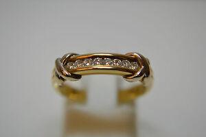 18ct Diamond Half Eternity Ring