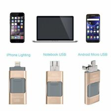 i Flash Drive USB Memory Stick U Disk 3 in 1 for Android/IOS iPhone 6S PC