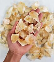 Citrine Crystal Chunks - Raw Citrine Bulk - Healing Crystals 1/2 LB - 2 LBS