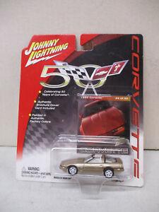 Johnny Lightning White Lightning 50 Years of Corvette 1985 Corvette