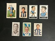 FOOTBALL CARD LOT OF 7 NORTH MELBOURNE - ALLENS, KORNIES, CARRERAS