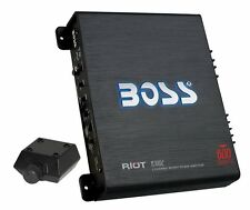 NEW BOSS R3002 600W 2-Channel Ch MOSFET Car Audio Power Amplifier Amp + Remote