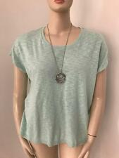 LADIES SIZE XL PASTEL GREEN  SUZANNEGRAE TOP NEW WITH TAG