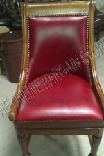 """Frontgate Kent Oxford Blood Barstool Counter BAR 30"""" seat Wood Kitchen Stool"""