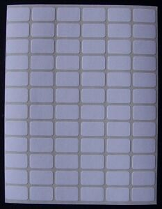 """500 All Purpose Removable Adhesive Price Labels Tags Stickers Square 3/8""""x5/8"""""""
