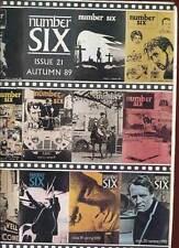 REVUE NUMBER SIX ( LE PRISONNIER). N°21. 1989. EN ANGLAIS.