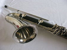 Bass clarinet, Bb keys ebonited body, Nickel plated,great tone AC-132
