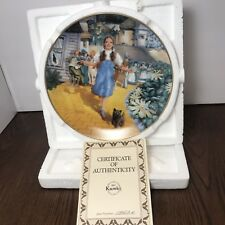 """""""Follow The Yellow Brick Road""""#1 In The Wizard Of Oz Series,Collector Plate,1991"""