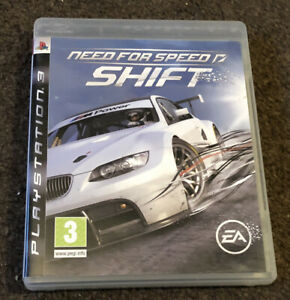Need For Speed Shift PlayStation PS3 Game Boxed With Manual Very Good Condition