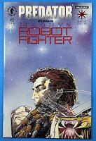Predator Vs Magnus Robot Fighter #2 with cards Valiant Dark Horse Comics 1992