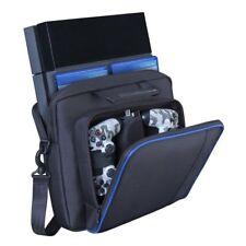 UK Travel Carrying Bags Case Shoulder Bags Black Handbag for Playstation4 Ps4