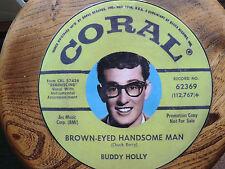 BUDDY HOLLY NEW T SHIRT USA RARE CORAL TEDDY BOYS