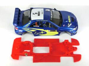 Chasis Subaru WRC ´06 Lineal Mustang compatible Ninco carroceria no incluida