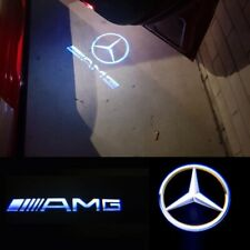 Mercedes AMG LED Car Door Welcome Lamp Logo Laser Projector Ghost Lights 4PCS