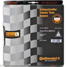 """NEW 2017 CONTINENTAL GRAND PRIX 4000S II Tubular Tire Black Chili 28"""" 700x22"""