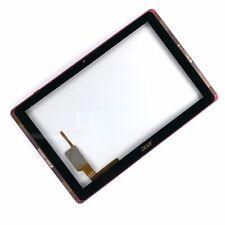 Genuine Digitizer écran tactile pour Acer Iconia Tab10 A3-A40 rouge avec cadre