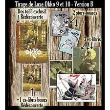 Tirage de Luxe Hub Okko 9 et 10  Version B  + bonus Bédécouverte