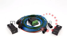 Land Rover Defender heated seat wiring kit with switches for Tdci with IGNSENSE