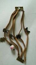 Bronze Leather Costume Charms & Charm Bracelets