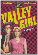New! Valley Girl (1983) Dvd - 80s Classic Comedy - Nicolas Cage Rebecca Foreman