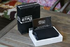 Zenza Bronica ETR Polaroid Film Back Immaculate Condition Box and Manual