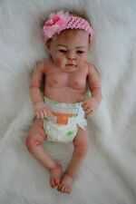 22'' Lifelike Reborn Girl Doll Full Body Silicone Vinyl Newborn Dolls GIFT