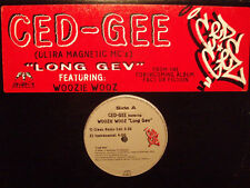 "CED-GEE (ULTRAMAGNETIC MC'S) - LONG GEV (12"")  1998!!!  RARE!!!"