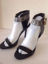"""Guess """"New"""" Elegant High Heels / Black / Sexy Women's Shoes Size 8 M"""