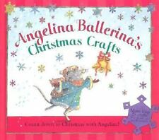 ANGELINA BALLERINA'S CHRISTMAS CRAFTS Stickers Gift Tags Holiday Activity Book