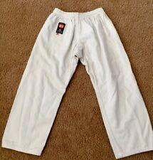 Ki International White Karate Jiu-Jitsu Pants Size 0