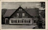 Bad Liebenstein DDR s/w AK ~1950/60 Partie an der Waldgaststätte Hubertushof