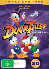 DuckTales: Volume 1 2 3 (20 Episodes) NEW DVD donald duck tales REGION 4 AUST