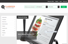 Excellent Classified Ads Website With A Super Clean Layout Installationhosting