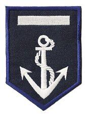 Ecusson patche insigne badge capitaine Marine Navy marin patch  brodé