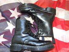Dr Marten Black Mono fur lined Serena boots size 4  (Sep15)
